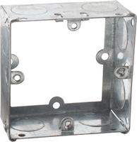 KnightsBridge 1G 35mm Galvanised Extension Back Box
