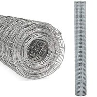 Kingfisher Square Mesh Wire Netting 90cm x 4m