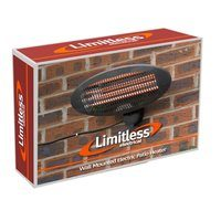 Limitless Wall Mounted Electric Patio Heater (Option: )