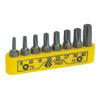 Torx Screwdriver Bit Set - 8 Piece by C.K Tools