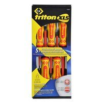 C.K Tools Triton XLS Insulated Screwdriver Set - 5 Piece