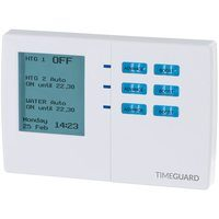 Timeguard 7 Day Digital Heating Programmer Timer - 3 Channel