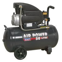 Sealey 50 Litre Direct Drive Compressor 2HP
