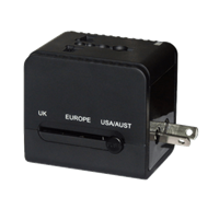 Ener-J Multi-Purpose Travel Adapter