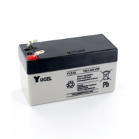 Yucel 12V 1.2Ah Sealed Lead Acid Battery