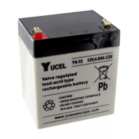 Yucel 12V 4Ah Sealed Lead Acid Battery