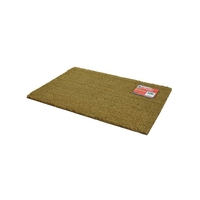 Kingfisher Natural Coir Rectangular Door Mat