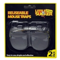 Kingfisher Reusable Plastic Mouse Traps (2 Pack)