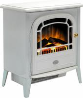 Dimplex Chourchevel Optiflame Electric Stove - Matt White