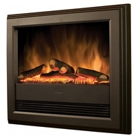 Dimplex Bach Wall Mounted Electric Fire - Black (2019 Model)
