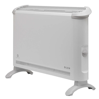 Glen 2kW Electric Convector Heater with Thermostat