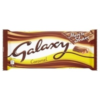 Galaxy Smooth Carmel Chocolate Bar - 204g