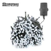 Benross White Ultra Bright LED String Chaser Lights