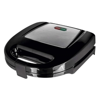 Status 2 Slice Non Stick Sandwich Toaster - Stainless Steel