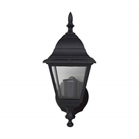 Status Four Sided Lantern - Black