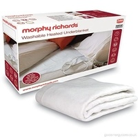 Morphy Richards Single Washable Heated Electric Underblanket