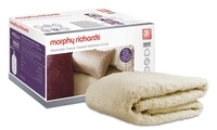 Morphy Richards Single Heated Luxury Fleece Mattress Cover