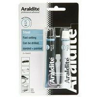 Araldite Steel Epoxy Adhesive Glue 15 ml 2 Tubes