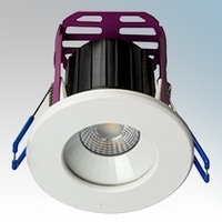 Robus Ramada 8.5W LED Fire Rated Downlight - 3000K, Dimmable
