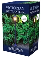 Kingfisher Victorian Style Post Lantern