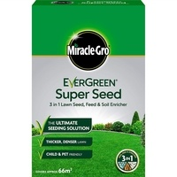 Miracle-Gro EverGreen Super Seed Lawn Seed 2kg - 66m2