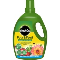 Miracle-Gro Improved Pour & Feed Ready To Use Plant Food - 3L