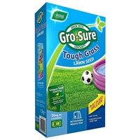 Gro-Sure Tough Grass Lawn Seed - 15m2, 450g
