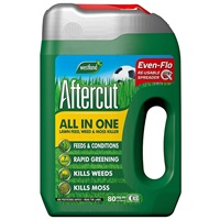 Westland Aftercut All In One Lawn Feed, Weed and Moss Killer Even-Flo Spreader, 80 m², 2.8 kg