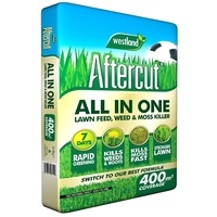Westland Aftercut All in One Lawn Feed, Weed and Moss Killer - 400 sqm