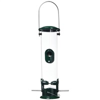 Peckish All Weather Metal Bird Seed Feeder, Large