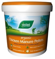 Westland Chicken Manure Pellets - 10KG TUB