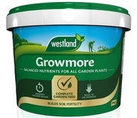 Growmore Garden Fertiliser, 10 kg Tub by Westland