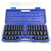 Toolzone Impact Socket Set - 38 Piece