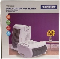Status 2kW Dual Position Fan Heater