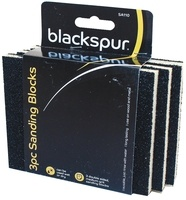 Blackspur Sanding Blocks - 3 Pack