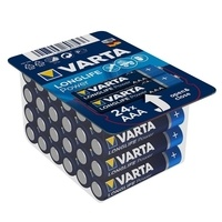 Varta Long Life Alkaline Battery - Box of 24