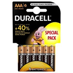 Duracell Duralock 6 Cell Battery Card
