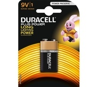 9V Plus Power Battery - Single by Duracell