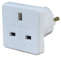 Pro-Elec UK to Europe Travel Adaptor