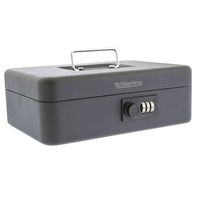 Sterling 10 Combination Cash Box - Black