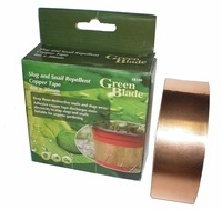 Green Blade Slug Repellent Adhesive Copper Tape - 4m x 30mm