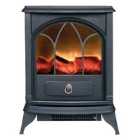 Kingavon 2kW Electric Stove with Log Flame Effect