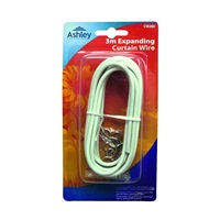 Ashley Expanding Curtain Wire - 3m
