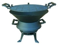 Redwood Cast Iron BBQ