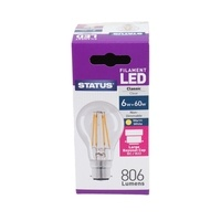 Status 6W GLS LED Filament Bulbs