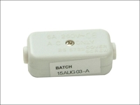 SMJ 5A 2 Terminal Line Connector - White