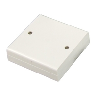 CQR 8 Way Square Junction Box - White