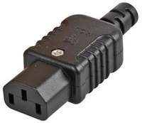 Pro-Elec Rewireable In-Line IEC C13 Socket