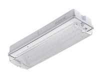 KnightsBridge 230V IP65 6W LED Emergency Bulkhead