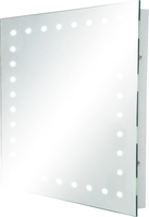 KnightsBridge IP44 Rectangular LED Bathroom Mirror